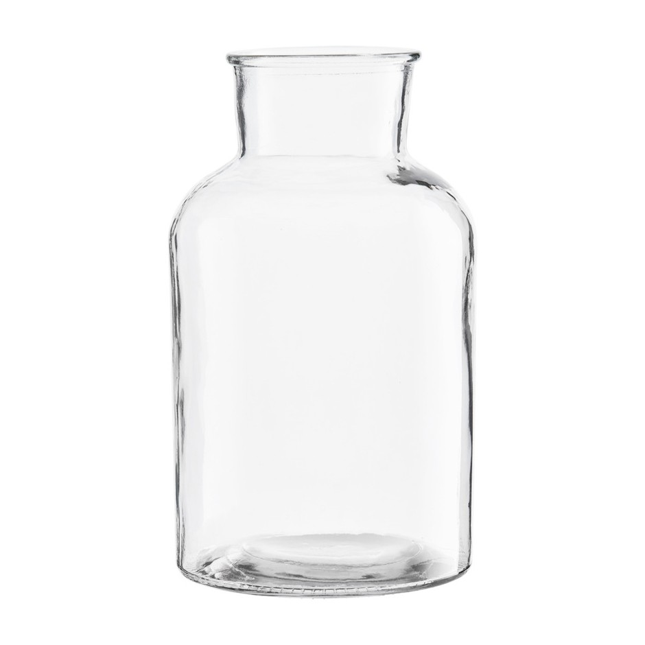 VASE GLASS TRANSPARENT