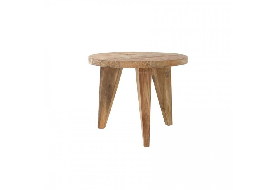 COFFEE TABLE EN TECK TAILLE S